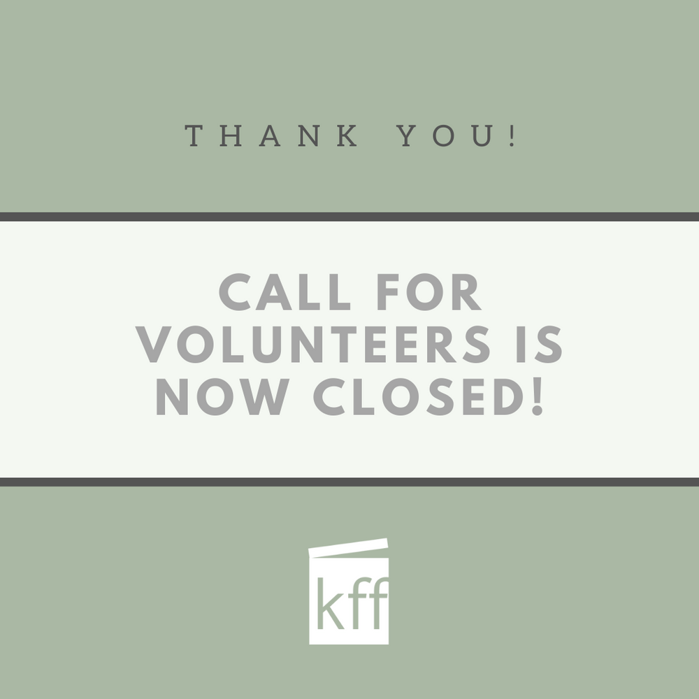 Call for volunteers is now closed!